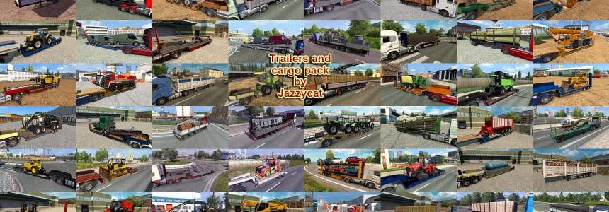 Trailers and Cargo Pack by Jazzycat v4.5