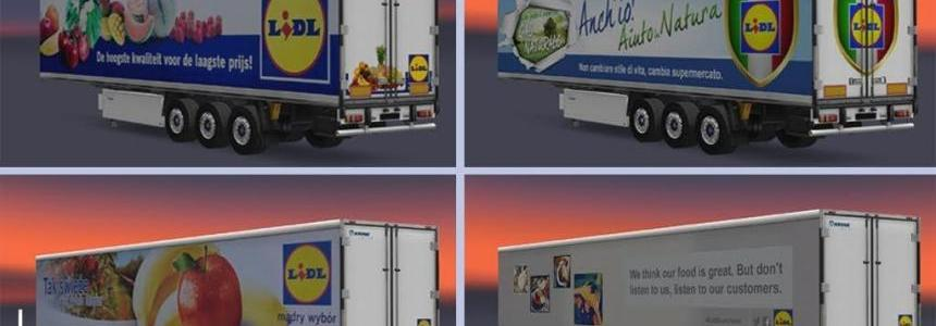 Trailers Krone Cool Liner Lidl Pack