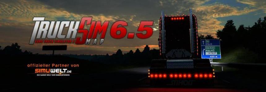 TruckSim - Map v6.5 [upd: 26.01.17]