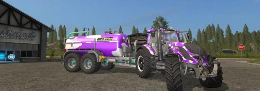 Valtra T Series Cow GT Milka Edition v1.0