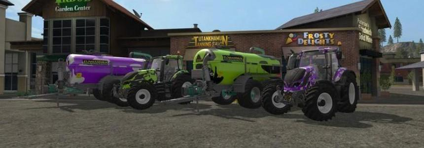 Valtra T Series Cow GT Milka Edition v1.1
