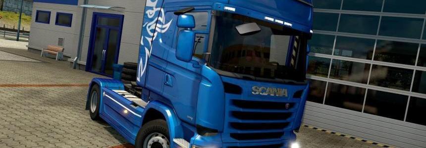 Visor from Scania R for Scania S for ETS 2 v1