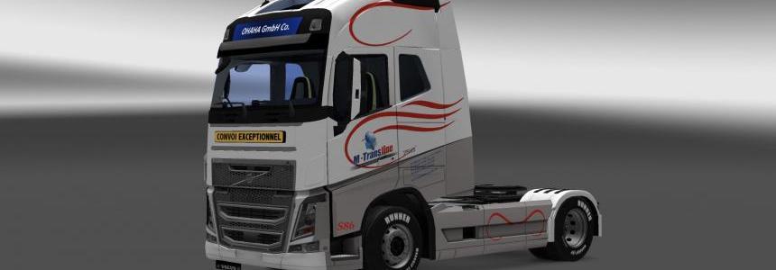 VOLVO FH16 2013 M-Transline SKIN v1