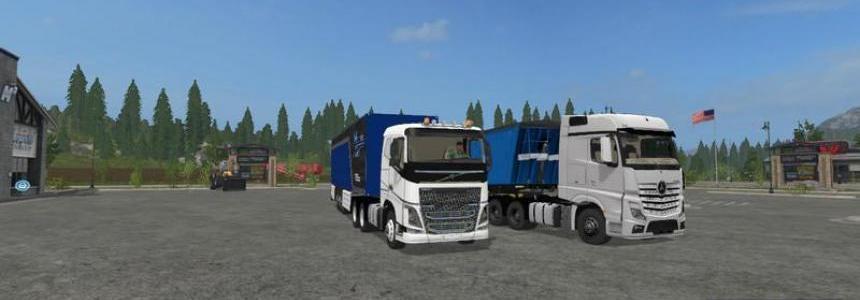 Volvo FH16 6x4 v1.0