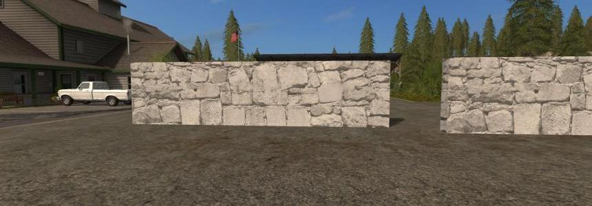 Wall 10M with Collision v2.0 Placeable