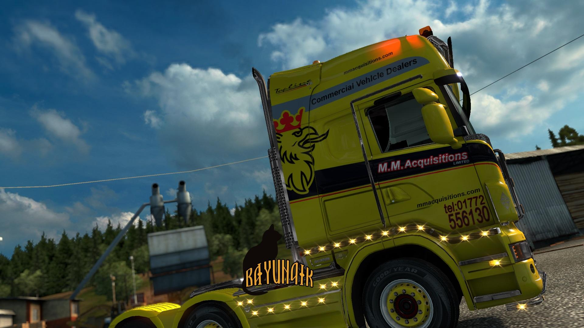 Scania Ltd Scania Limited Edition Skin For Rjl Ets 2 Mods