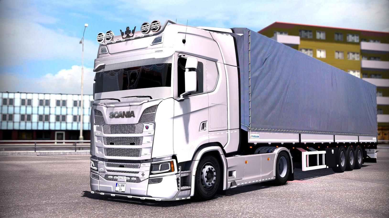 scania s series turkish job v1 0. Black Bedroom Furniture Sets. Home Design Ideas