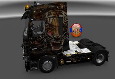 Renault T Abstract Tiger Skin 1.26.3s