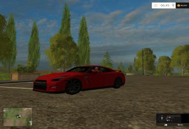 2015 Nissan Gtr Black Edition v1