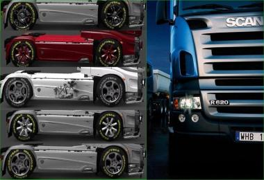 Tires & Rims Brabus v1