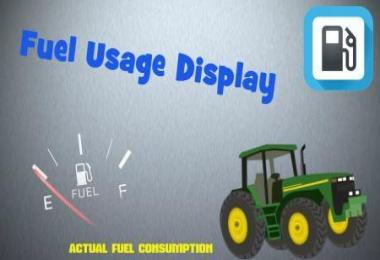 FUEL USAGE DISPLAY v1.0