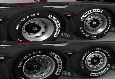 MICHELIN WHEELS PACK ETS2