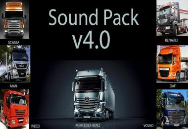 Mega Sound Pack for all truck