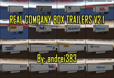 Real Company Box Trailers v2.1