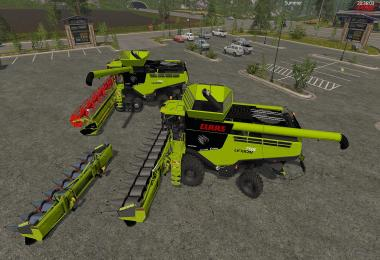 Claas Lexion 795 Set v1.0