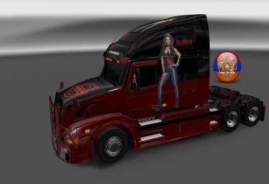 Combo skin pack vnl style5 for volvo vnl670 trailer doubledeck
