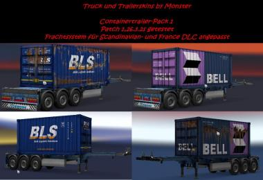 Container Trailer Pack all DLC