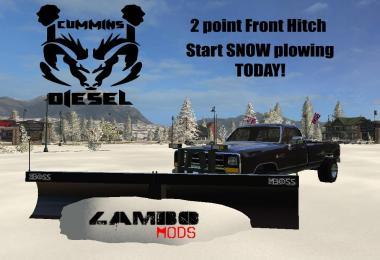 Dodge Cummins SNOW PLOW Turbo Diesel v1.0