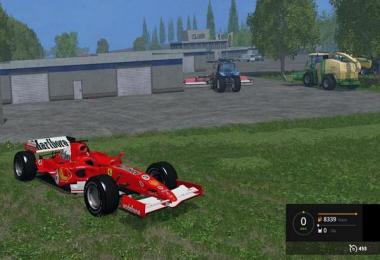 FERRARI F248 RACE CAR v1