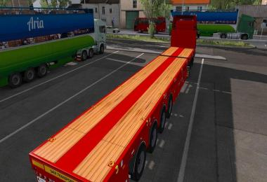 Goldhofer extendable empty trailer 1.26