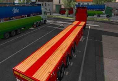 Goldhofer Extendable Empty Trailer V1.26