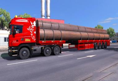 Goldhofer trailer ETS2 v1.0