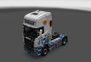 Holland Scania Streamline Skin 1.26