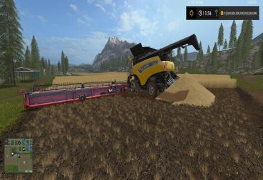 Huge new Holland Header v1.0