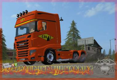 LS17 SCANIA COLAS 700EVO TFSGROUP