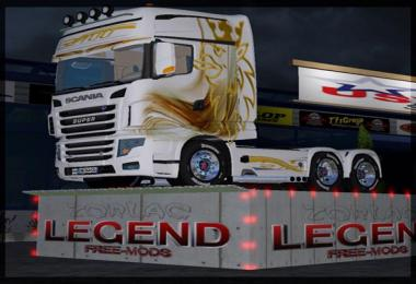 LS17 SCANIA GOLD BLANC 700EVO TFSGROUP