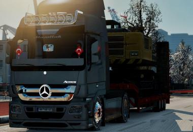 Mercedes Actros Turkish Edit