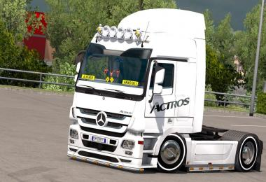 Mercedes Actros Turkısh Edition v1.0
