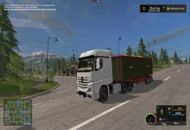 Mercedes Benz Actros MP4 v1