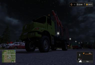 Mercedes Benz Zetros Timber V1.0