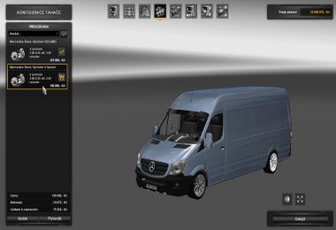 Mercedes Sprinter 2015 – New Engine/Transmission 1.26