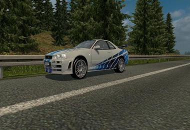 Nissan Skyline GTR R34 Beta