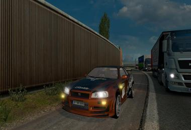 Nissan Skyline GTR R34 V1