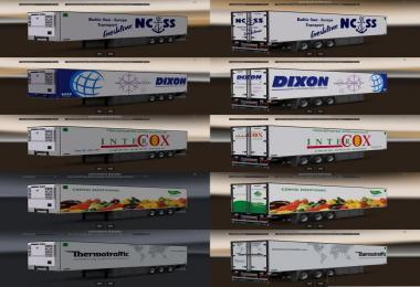Old Chereau Trailer Skins