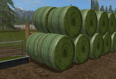 Photorealistic Round Bales v1.0