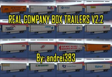 Real Company Box Trailers v2.2