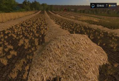 Real Grass Hay straw v1.0