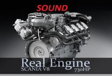 Real Scania Sound V8 v1