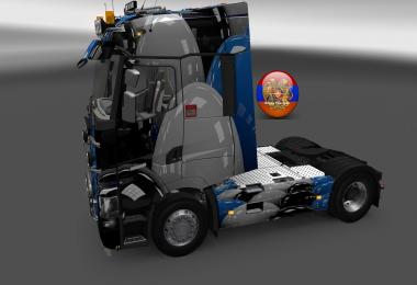 Renault T Balls Rows Skin 1.26.3s