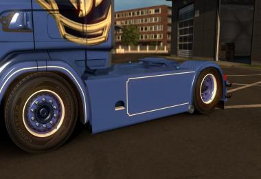 Scania 4 Series RJL Danish Sideskirts