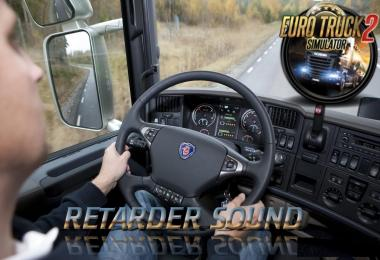 Scania Original Retarder Sound