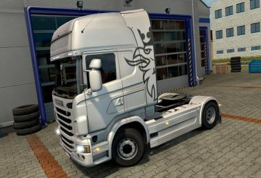 Side skirts V8 for Scania's Scania R ETS 2 v1