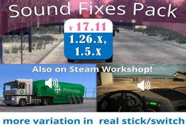 Sound Fixes Pack v17.11