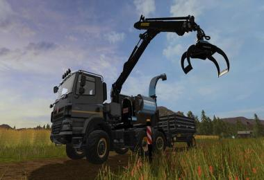 Tatra PHOENIX 6x6 with Jenz HEM583 Woodcrusher v1.0