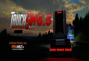 TruckSim Map v6.5