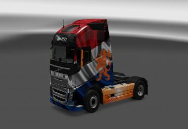 Volvo FH16 Dutch skin 1.26